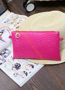Косметичка с ремешком GLOSS розовая