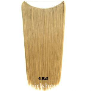 Искусственные термостойкие волосы на леске прямые №018 (60 см) - 100 гр.